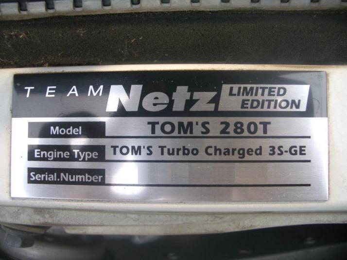 Altezza 280t Solo 100 Fabricados 3s Ge Turbo De Fabrica