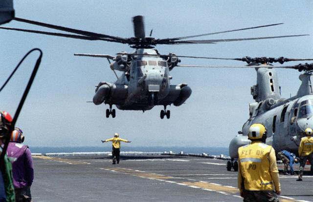 CH53D大型ヘリコプター