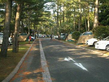 鹿児島県 県立吹上浜海浜公園キャンプ場 の写真g63788
