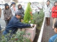 マンションでの植木屋さんによる講習会