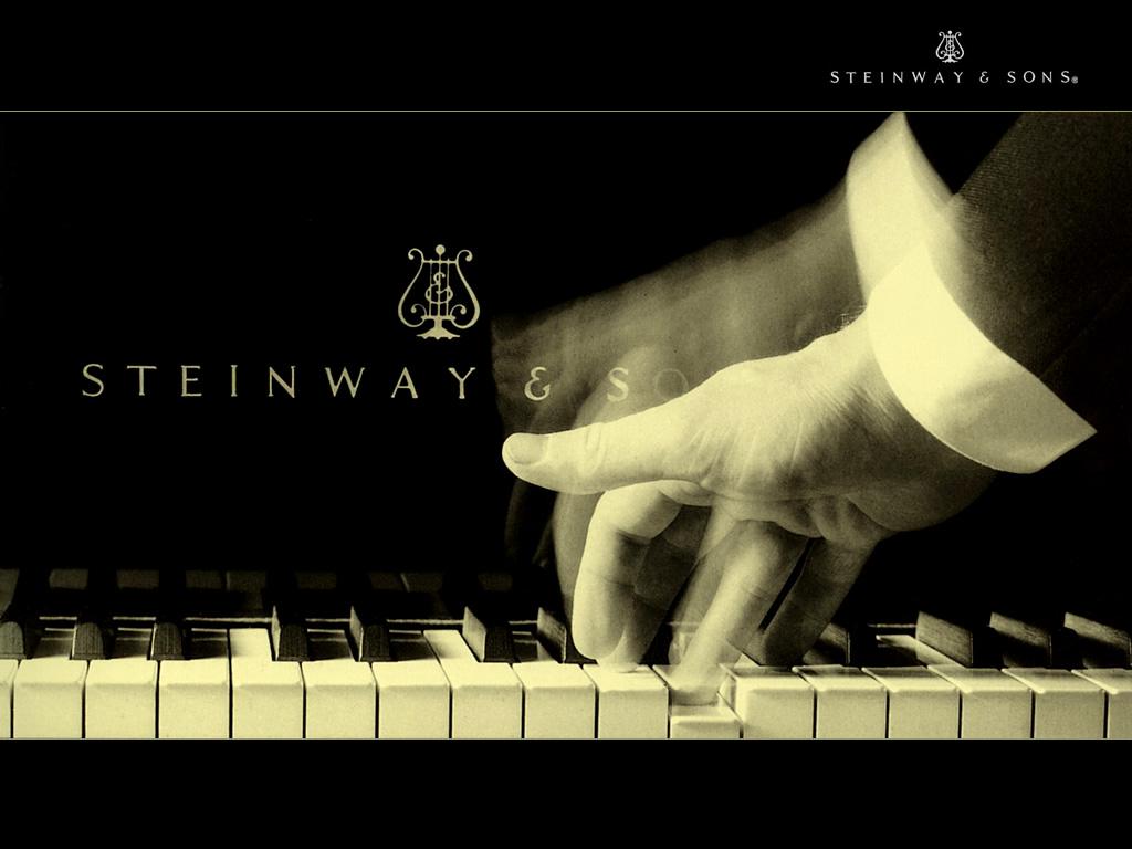 スタインウェイのピアノ。