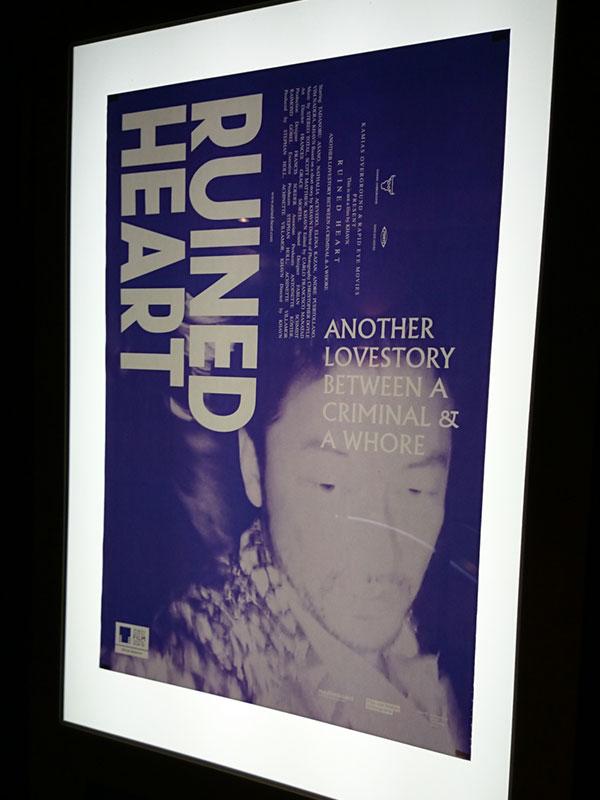 TOHOシネマズ日本橋、5階廊下に掲示されたポスター。