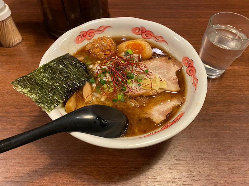室壱羅麺の室壱羅麺。