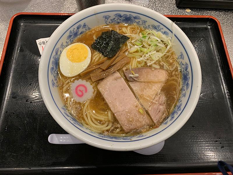 松戸冨田麺絆の中華そば 並。