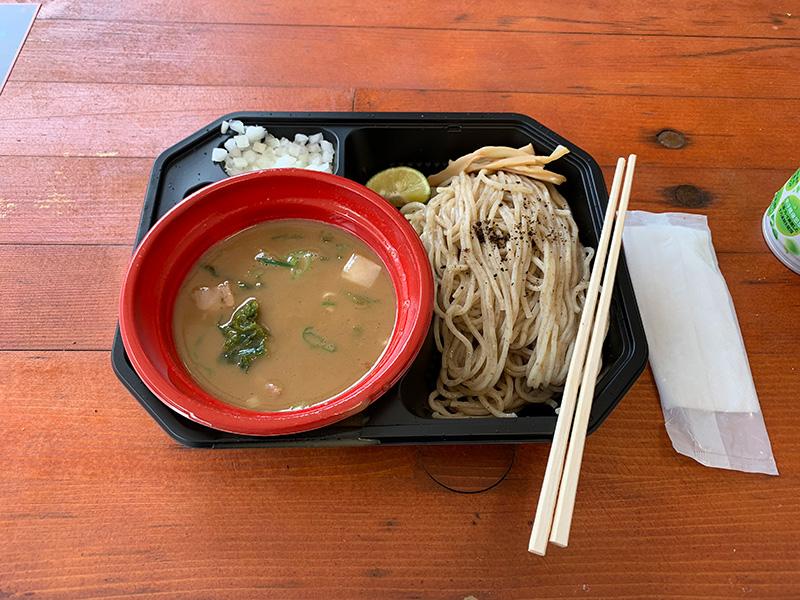 麺匠たか松のつけ麺(鶏魚介)。